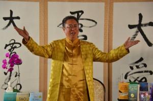 Master Sha singing